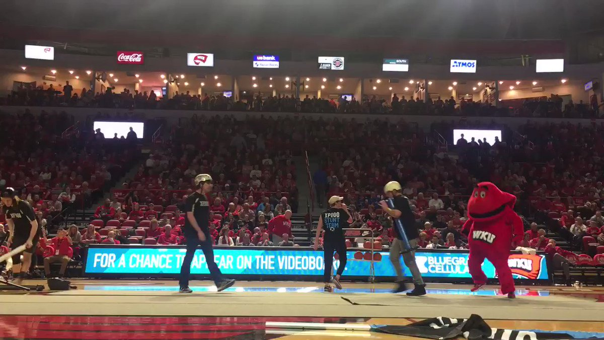 RT @WKUBigRed: Thanks @Xpogo for including me in your halftime performance! #GoTops https://t.co/ImLKQKCCfN