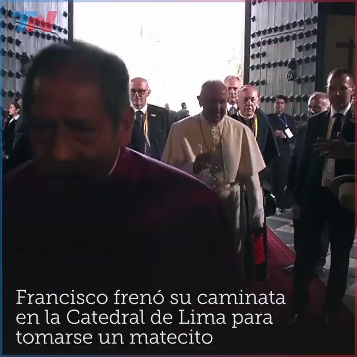 Francisco frenó su caminata en caminata