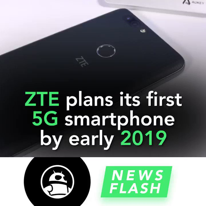 #ZTE looks to launch its first #5G smartphone by early 2019. Read more:...