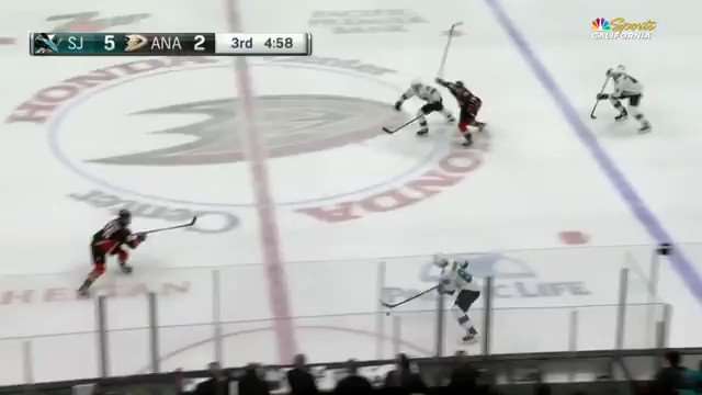 RT @BrodieNBCS: Melker gets the #SJSharks to 6. What a shot.  What a game. https://t.co/HOog1mQzaE