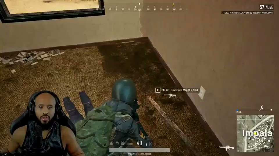 Why he had to do me like that thou!! #pubg #jumpscare https://t.co/ESECjxoCJ6