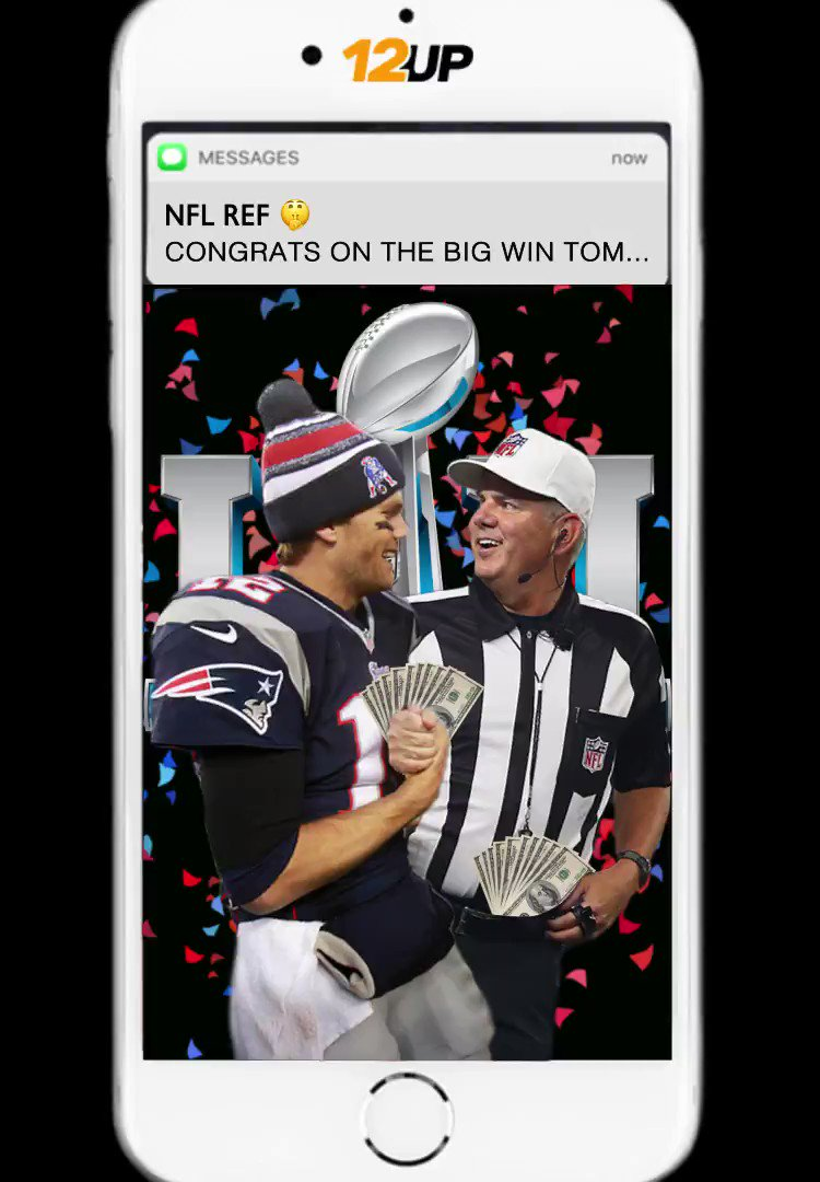 RT @12upSport: Tom Brady and his best friend text after AFC Championship win! https://t.co/iTdaRGcFLu