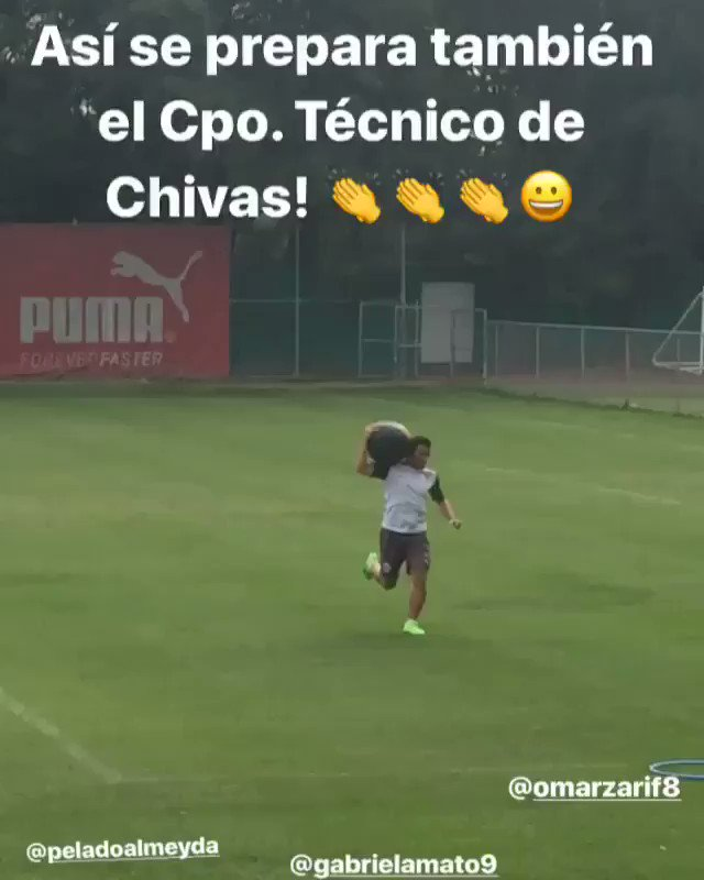RT @chapis_herrera: Así trabaja el Cpo. Técnico de Chivas! 👇👇👇 https://t.co/mg6U1gtOyK