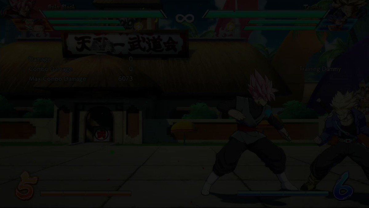 RT @TalesOfMrE: Goku Black has the sickest dive kick in any fighting game ever! #DragonBallFighterZ #DBFZ https://t.co/n2NTgLvp0p