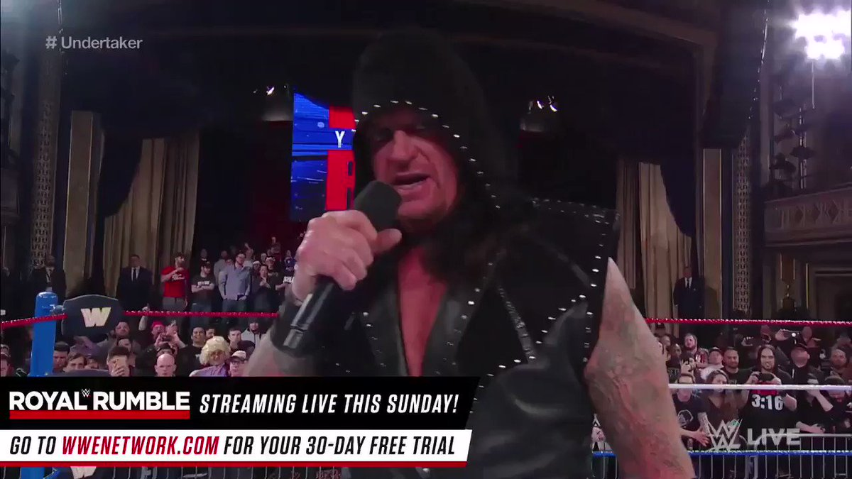 For The First Time Since WM 33 #TheUndertaker Makes His  Return To Speak On #RAW25 https://t.co/BdAXDCS5dx