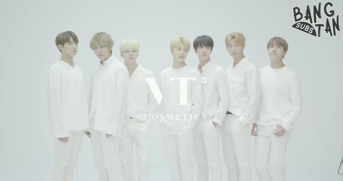 RT @rapmonpictures: Our 7 Kings that invented beauty 😍❤️  VT Cosmetics x @BTS_twt #BTS #BestBoyBand #iHeartAwards  https://t.co/48ScvAjjvr
