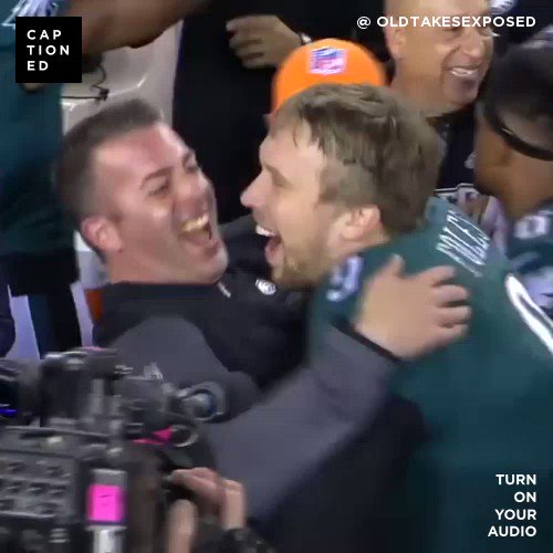 RT @OldTakesExposed: New @CaptionedVideo: Rounding up some #Eagles Cold Takes from the season.  #FlyEaglesFly https://t.co/YX7YOciDsp