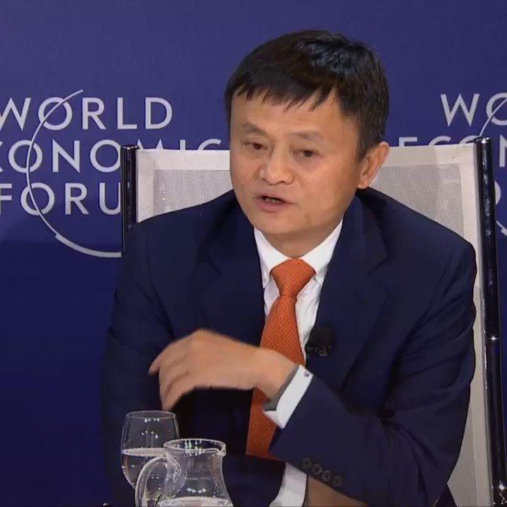 RT @wef: Jack Ma: