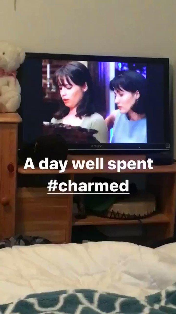 #SelfCareSunday #Charmed #girlpower