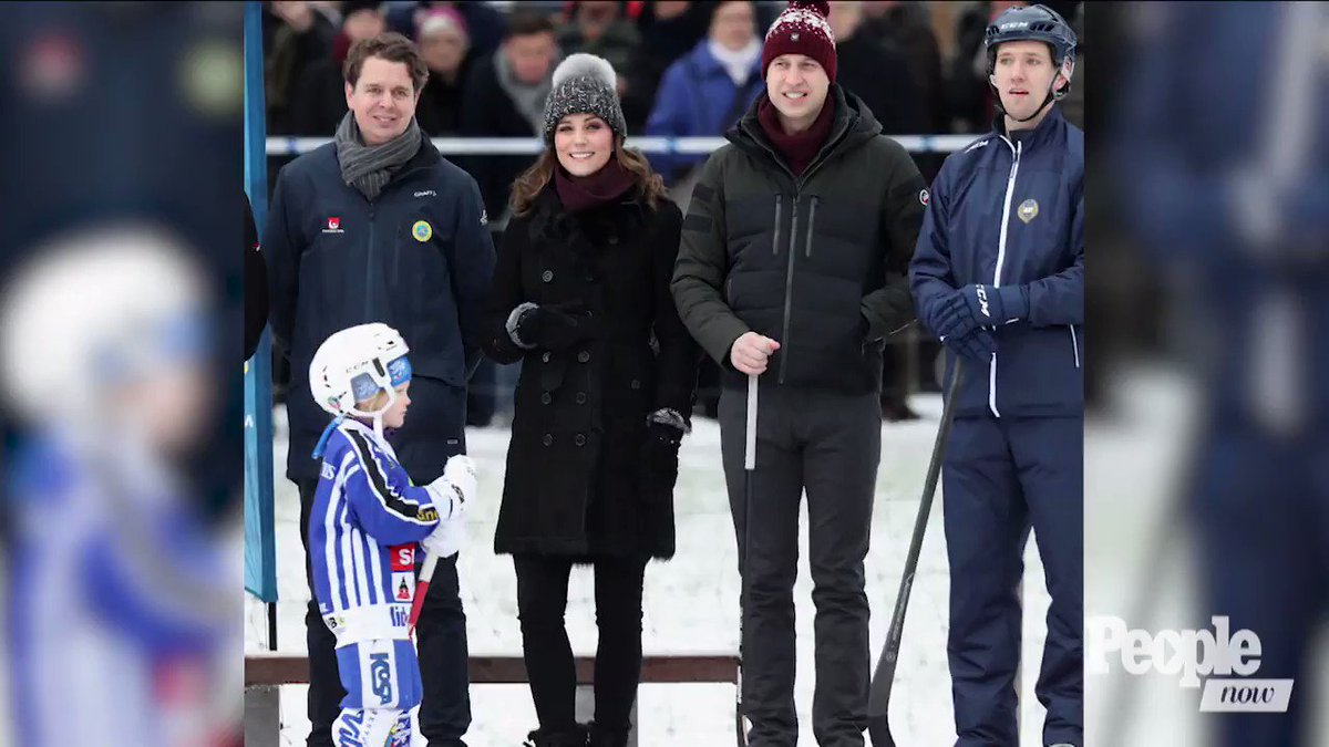Pregnant Kate Middleton Boldly Hits the Ice as She Rounds Her Third Trimester