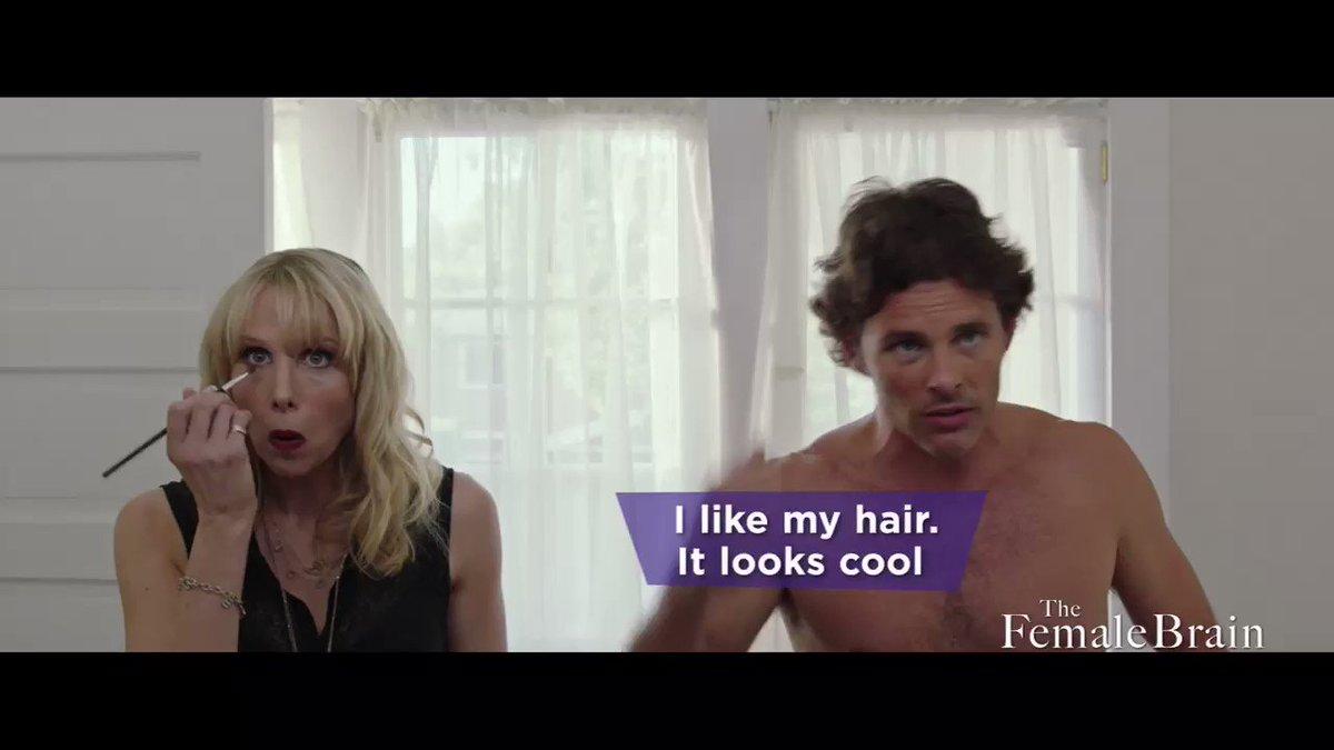 RT @WhitneyCummings: The Female Brain, our Feb 9! ???? James Marsden is very hilarious. @nealbrennan https://t.co/uGH8LL0BHl