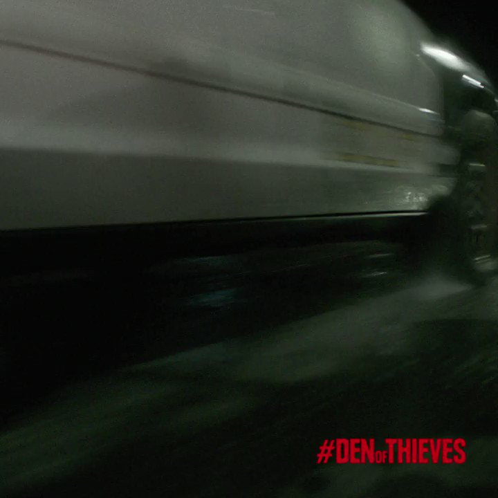 Get your blood pumping and your heart pounding with #DenOfThieves this weekend. ???????????? #Outlaws https://t.co/uJoH3YG2aa
