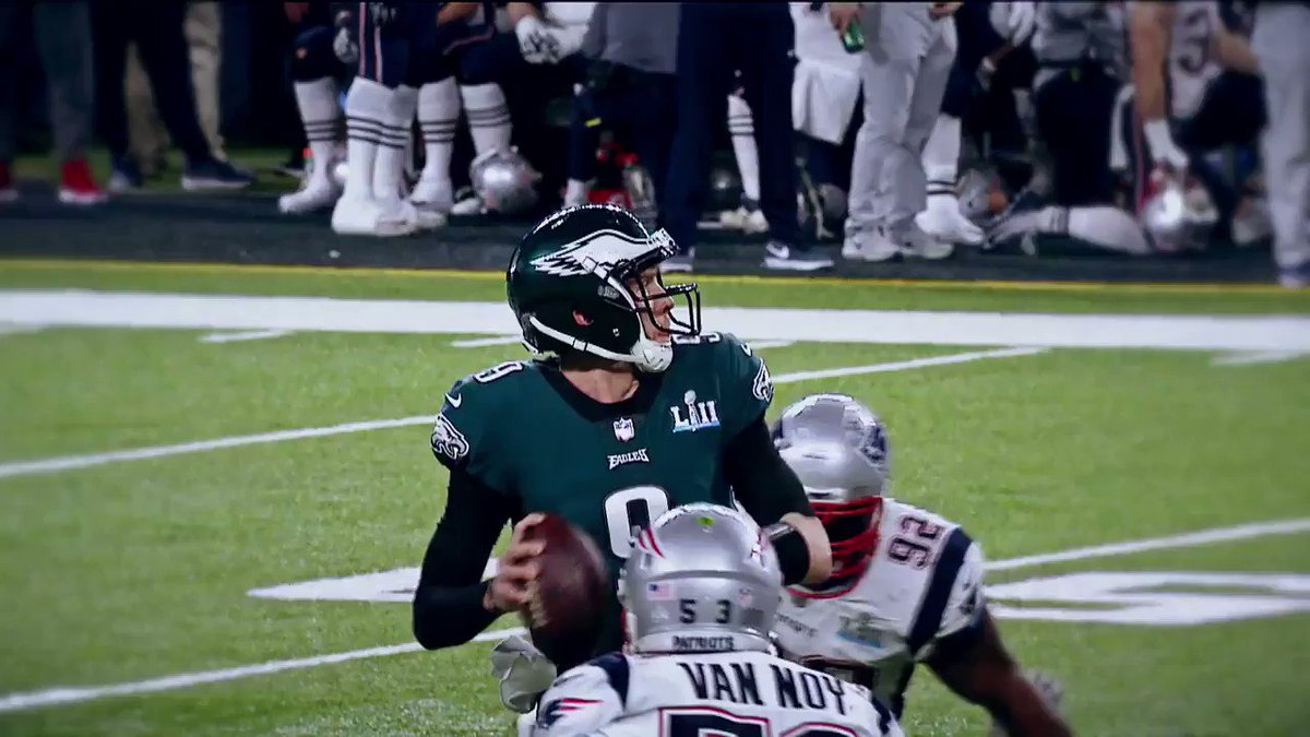 �� 373 passing yards �� 3 passing touchdowns �� 1 receiving touchdown �� Super Bowl MVP  @NFoles_9 was BALLING at #SBLII https://t.co/U6dRifJJ1n