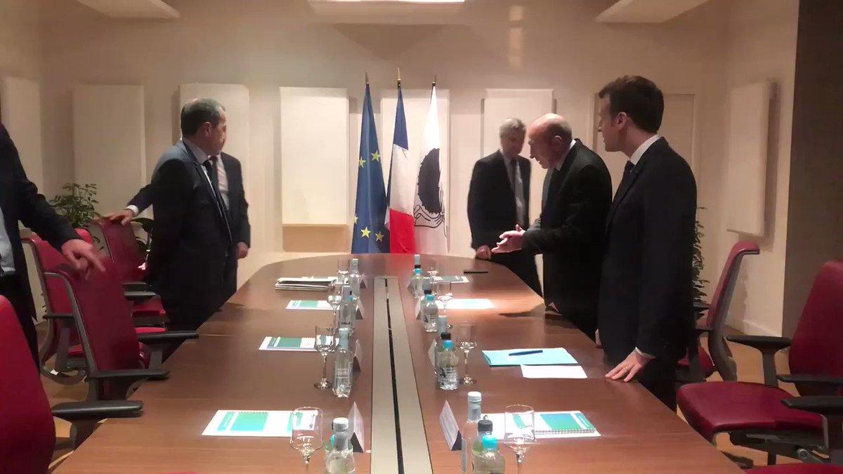 Dialogue avec la Collectivité de Corse pour inventer l'avenir de l'île au sein de la République. https://t.co/7BghaCyfkR