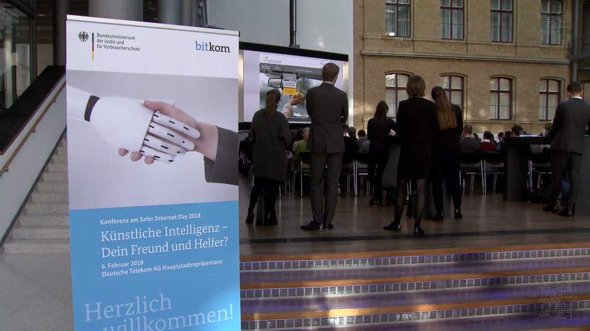 Kongress in Berlin: Sind wir bereit für Künstliche Intelligenz? [Video]