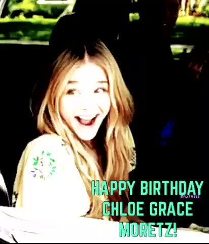 Nothing but love for Chloe Grace Moretz who turns 21 today!! HAPPY BIRTHDAY