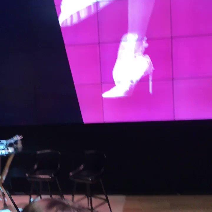 We're at the @Maybelline Master Class! @CurlsFoTheGirls @KarolsCorner #MNYMasterClass https://t.co/Ot6yzEJi5q