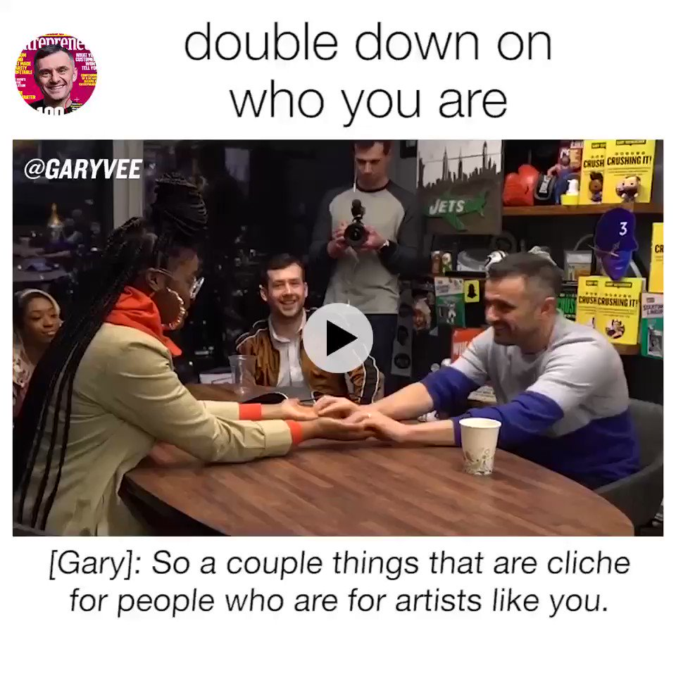 https://t.co/EVddUIqXCK  Tierra Whack on Hip Hop Culture and the Creative Process | GaryVee Business Meetings https://t.co/6wdzNJpb1t