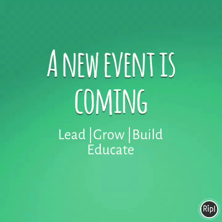 Speaker announcements begin this week #excited...