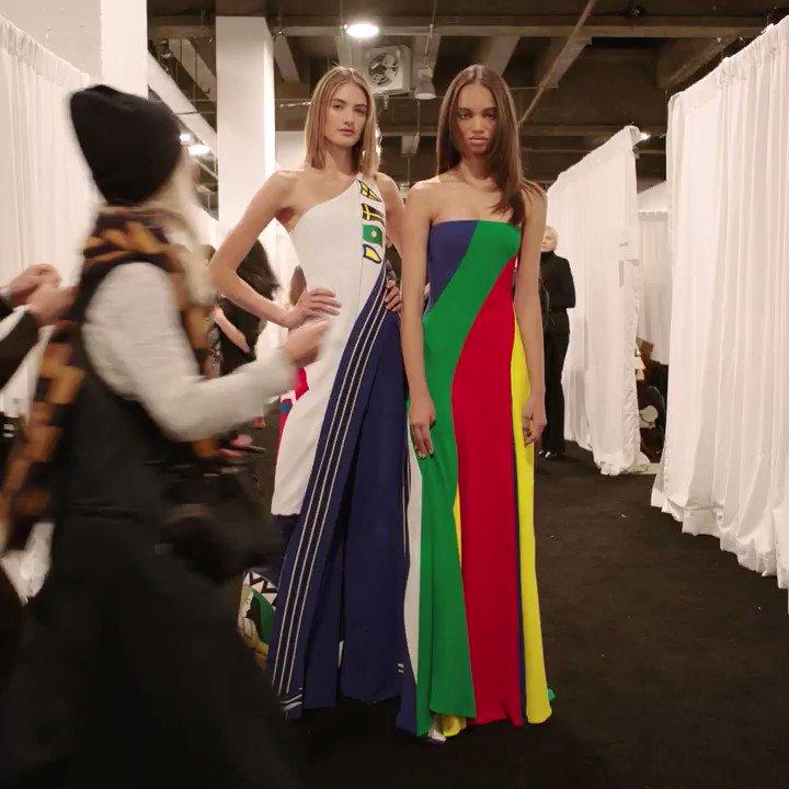 Behind the scenes at the #RLSpring2018 Fashion Show. #NYFW https://t.co/u88n2XHUFA