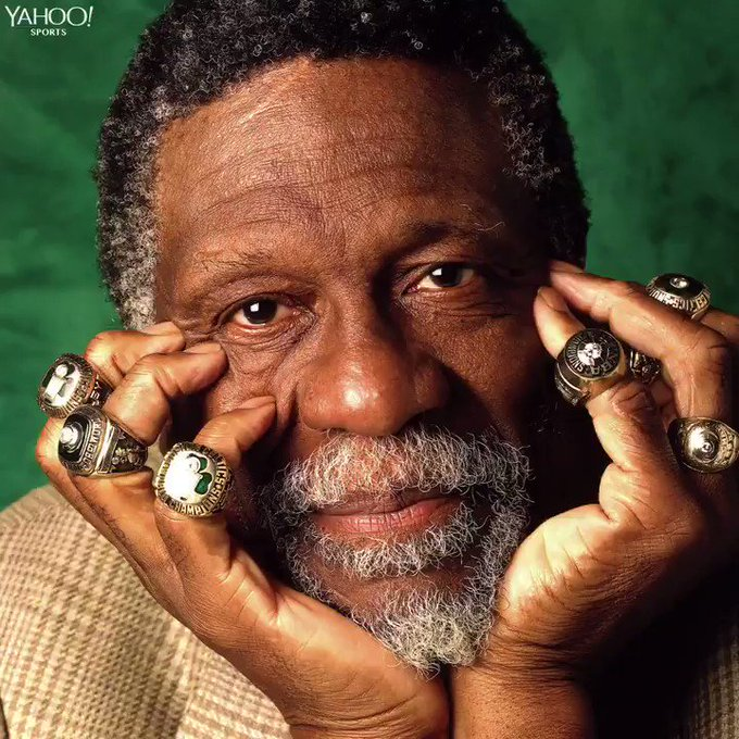 Happy Birthday to a true legend, Bill Russell.