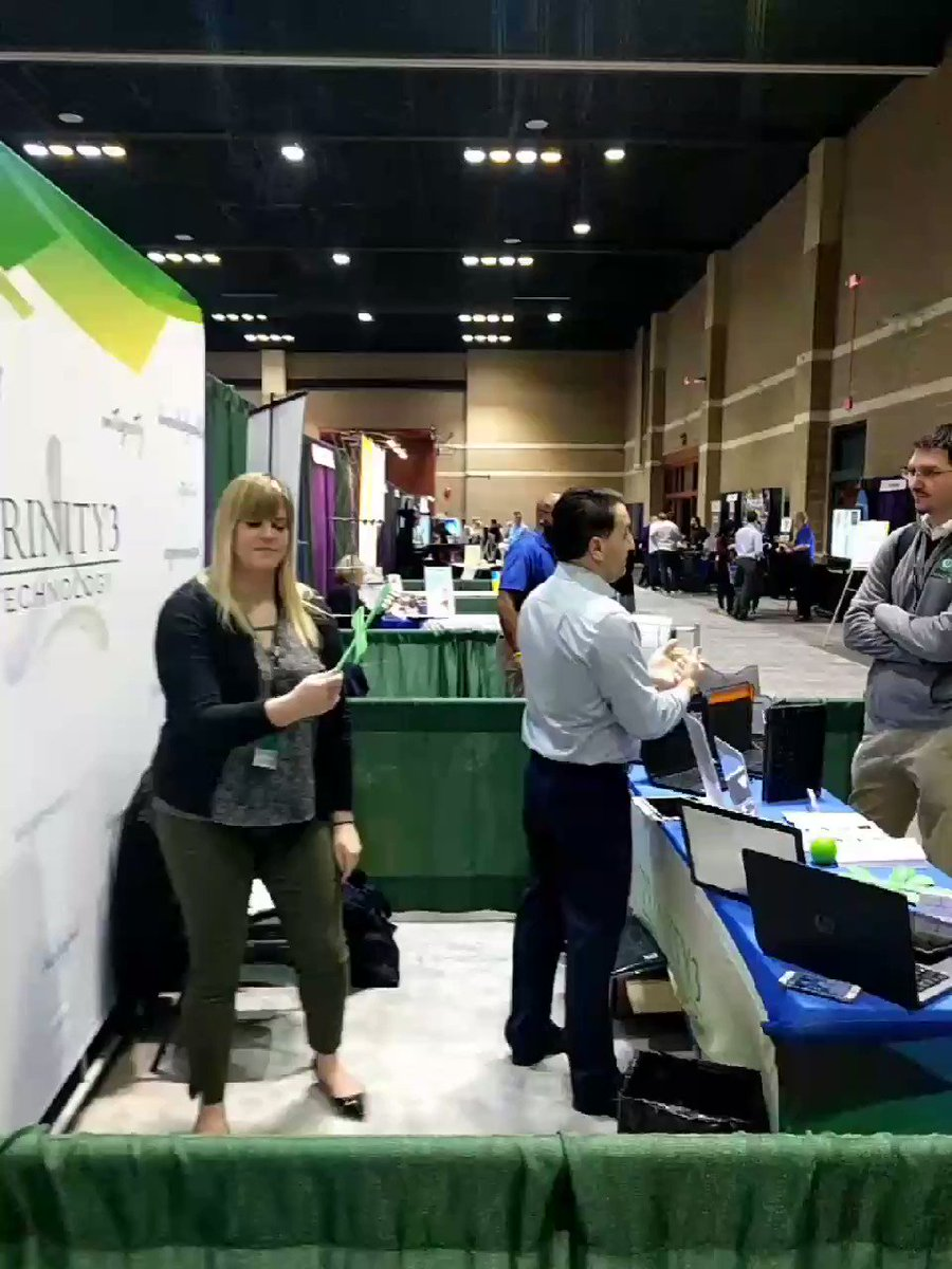 Boomerang classes here Day 2 of #METC18  being held @MAXCases and our partners booth @Trinity3Tech. Come see us! https://t.co/hxatQtSycK