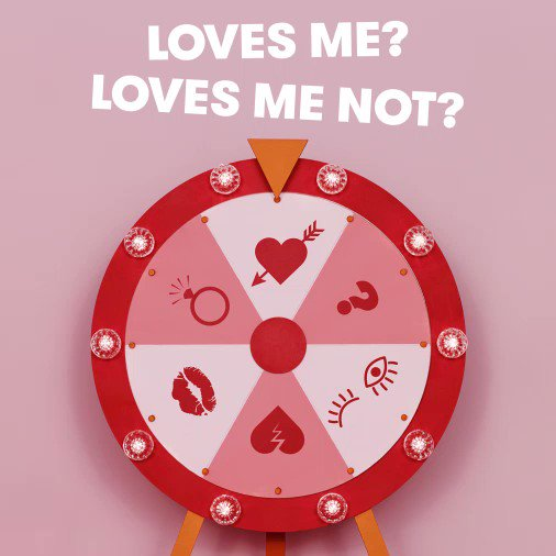 Crush? Bestie? That postman? Spin the wheel to see if they catch the feels ❤️ https://t.co/6it8hwgJjG