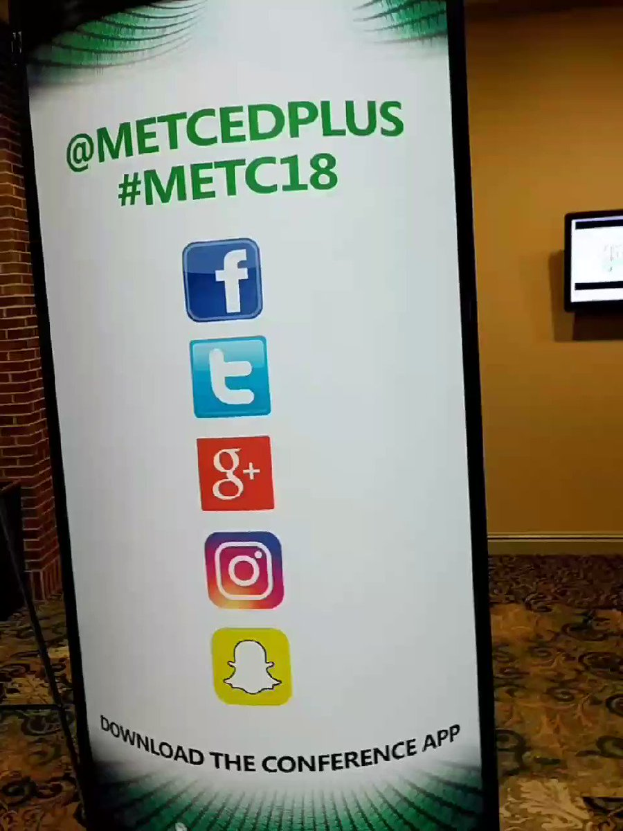 RT @mjmitchell86: Final day of #METC18 and @MAXCases  is here and ready for the scavenger hunt! https://t.co/brlIBZH7cv