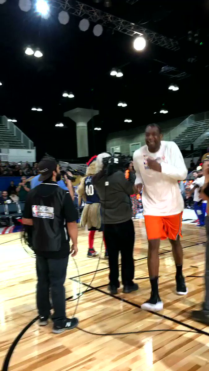 RT @nbacares: Hall of famer @officialmutombo takes the floor! #PlayUnified https://t.co/jN4HfZ8RPm