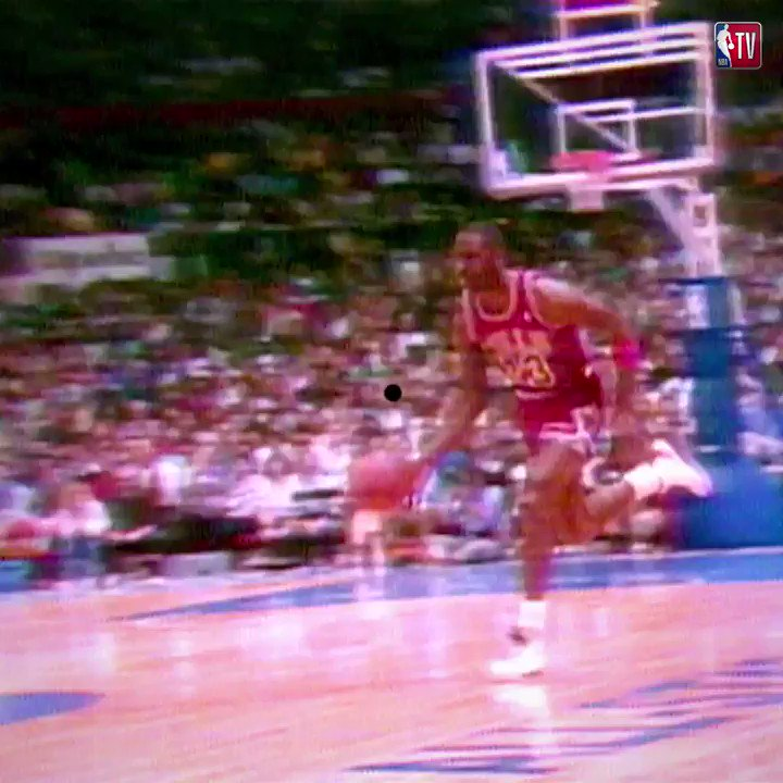 RT @NBATV: On his 55th birthday, we take a look back at one of MJ's most iconic #NBAAllStar moments! https://t.co/QCl4XTeyEj