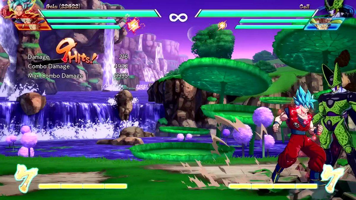 RT @AkasuraXrd: SSGSS Goku solo 10k combo #dbfz #dbfz_bgk #tod #solo #combo #goku #ssgss_goku https://t.co/tRnEc1KqrJ