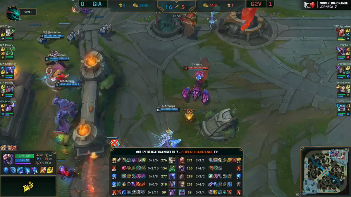 @Yoppalol This is how we ended the game! Enjoy the fight casted by our spanish friend @LVPibai, a caster most of you already know! #WeAreGiants   Hint: Keep an eye on Riven 💙 https://t.co/K6MHVRUckS