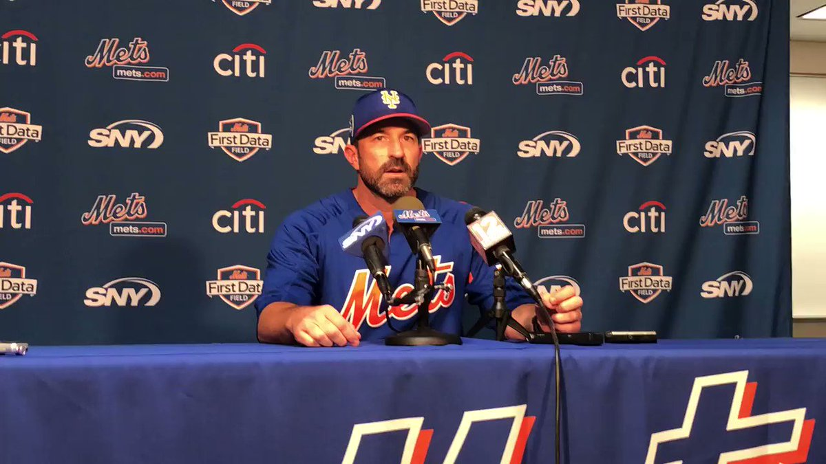 Mickey Callaway addressed the full team for the first time today. https://t.co/keKHAEwM09 https://t.co/Kc7U4L6YbS