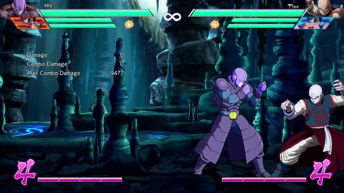 Hit can link IAD from 5H in the corner during sparking. You can do a character specific route on Cell. #DBFZ #Hit https://t.co/r7TY0YYyGE