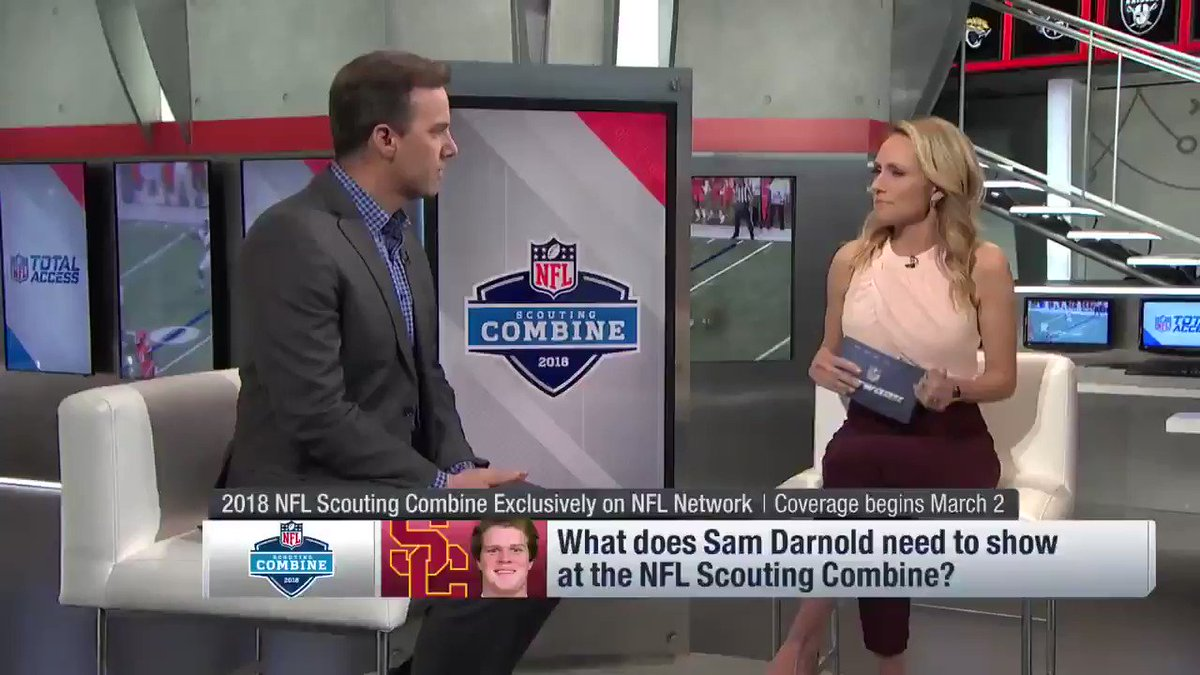 What to expect from Darnold & Rosen at the NFL Scouting Combine https://t.co/psg38zxePW