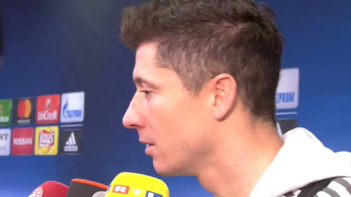 Robert Lewandowski: We are not favourites to win the Champions League https://t.co/T4296KER0t