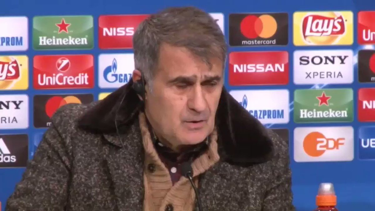 Şenol Güneş: The red card broke our neck https://t.co/m8KZb9Wnv2