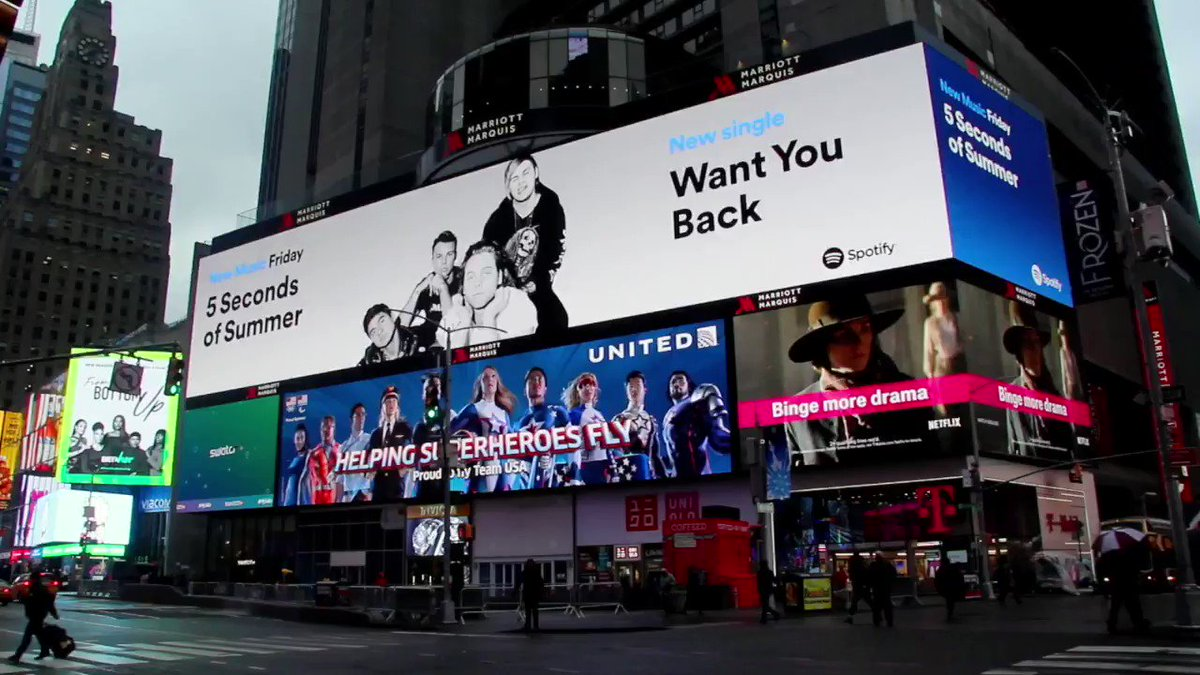 Times square  New York City 20 spotify