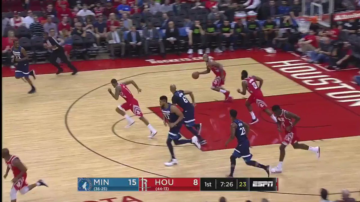 .@JHarden13 dishing it out early �� https://t.co/JCi7FDwHkE