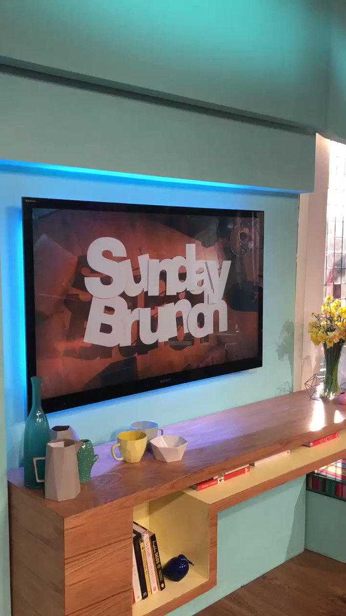 I'm on @SundayBrunchC4 tune in now!! ???????????????? https://t.co/wkqBtIV4M5