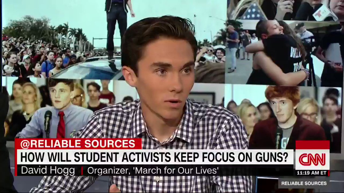 Parkland school shooting survi david hogg