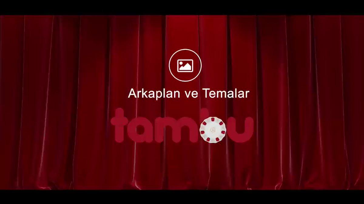 Kişiselleştirilebilir temalarla sen de #Tambula  https://t.co/52WJhBXBAQ https://t.co/pWUmBrWP4y