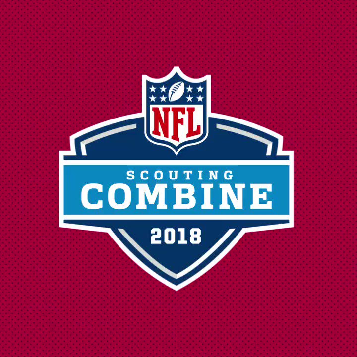 RBs and O-Line hit the field today at the #NFLCombine. https://t.co/s8daLRYfxs