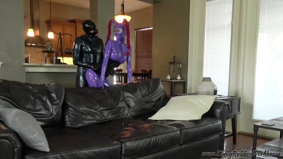 Watch #Rubber_jeff bend Lara over the sofa and 150 other kinky #Rubber videos now on TV9J400dIZ