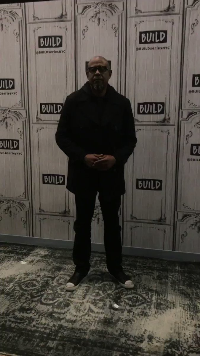 RT @BUILDseriesNYC: .@ForestWhitaker is here & going live now on https://t.co/M8xULp80xC ???? don't miss it! https://t.co/YpKQkN1Vhy