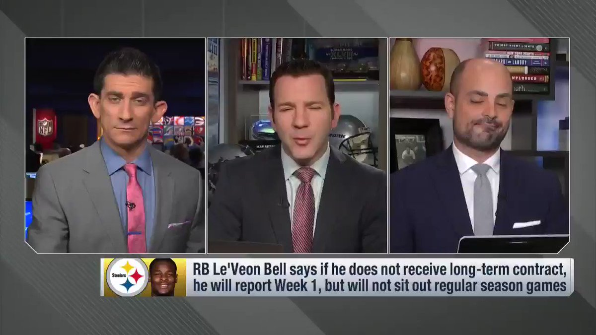 From Up to the Minute Live: #Steelers RB Le'Veon Bell says he won't sit out the season... and what that means. https://t.co/DBPOEl1UNQ