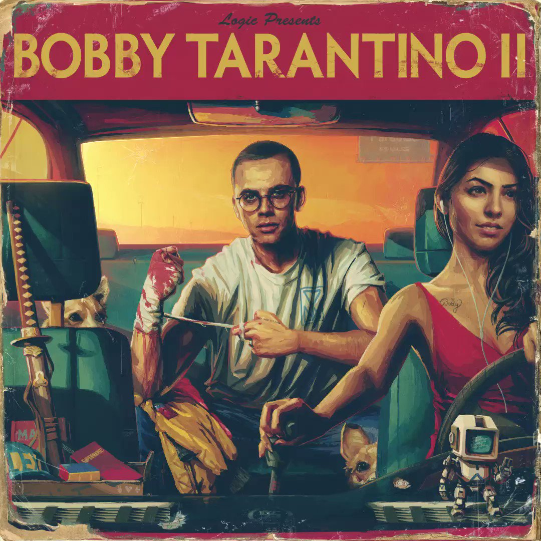 The boy is back. Stream @logic301's Bobby Tarantino II now. https://t.co/SNL09D0j9M ���� https://t.co/mxRF01KTAo