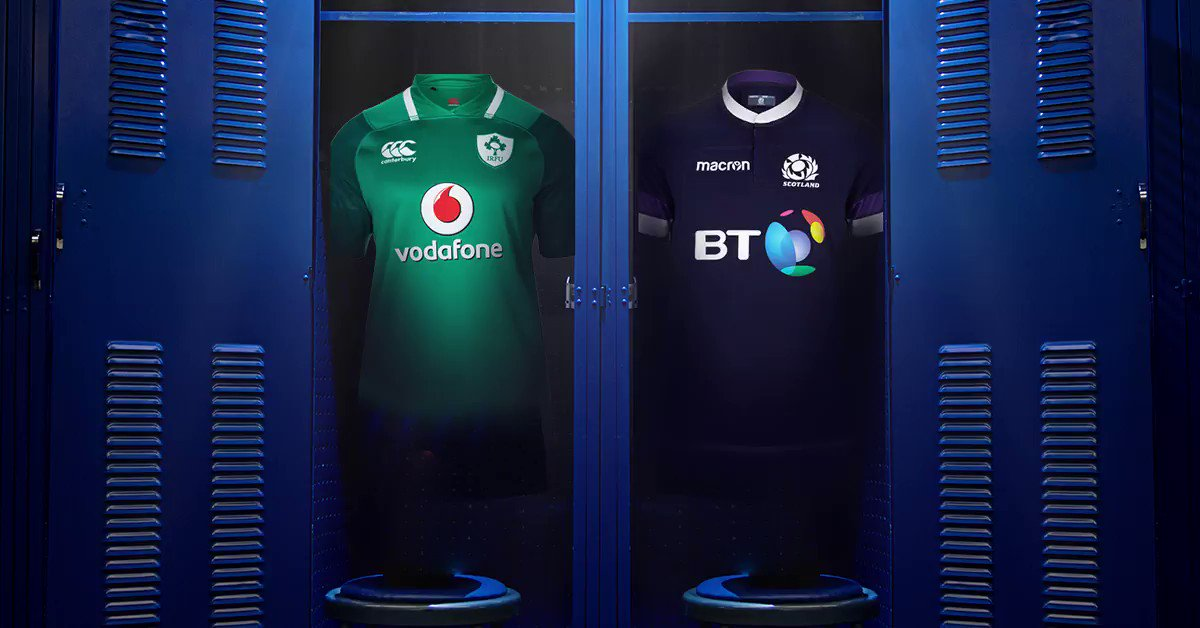 The Scots 🏴󠁧󠁢󠁳󠁣󠁴󠁿 and their skirts are in town. We hope they're ready! #IREvSCO #LiveTheJersey #6Nations https://t.co/QFOkVWpPCD