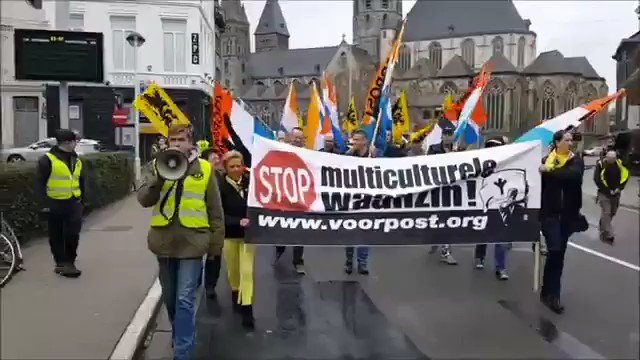 The resistance against Islamisation is growing every day in Europe. This was Belgium today https://t.co/xa1CluIDYK