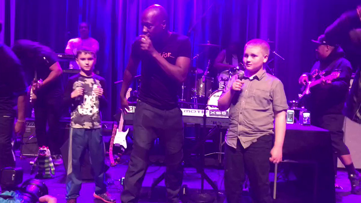 RT @ErrenHarter: @TYBOSS24 Kaden, Marley and @wyclef brought the house down last night #carnival https://t.co/btUm1WeWh5